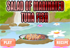 Salad of Marinated Tuna Fish