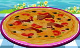 Fish Pizza Game