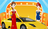 Auto Show Girl Dress Up