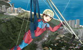 Hang-Gliding Girl