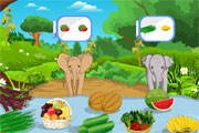 Feed The Baby Elephants