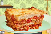 Lasagna Cooking
