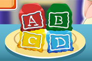 Baby Cooking Block Cakes