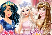 Princesses At Fashionistas Contest